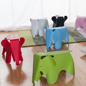 High Quality Colorful Cute Plastic Elephant Kids Chair For Sale