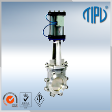 API Standard Pneumatic Actuator 4 Inch Knife Gate Valve For Slurry