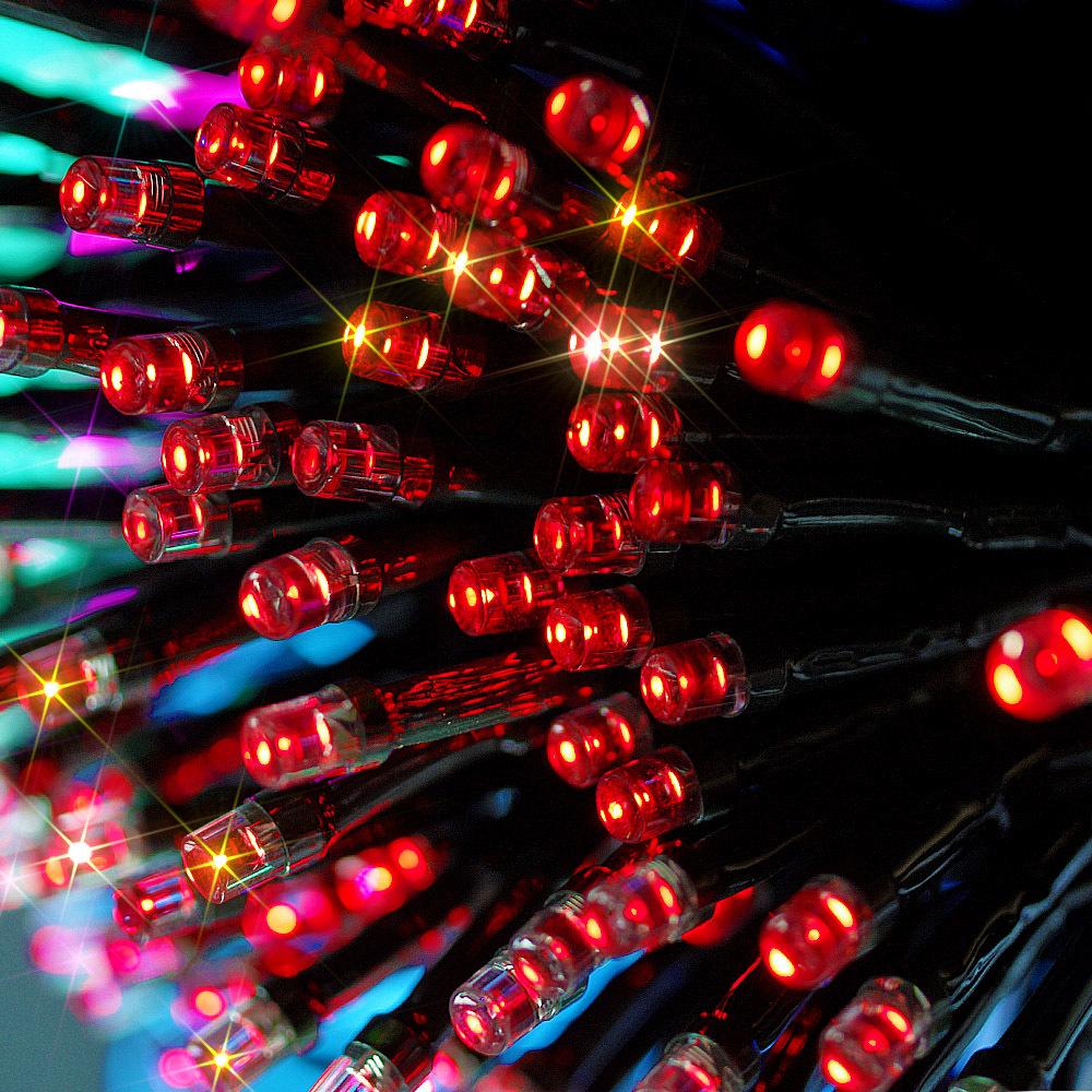 Solar Christmas Lights 72ft 22m 200 LED 8 Modes Solar
