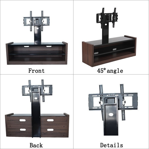 Living room lcd tv stand wooden furniture led tv stand design