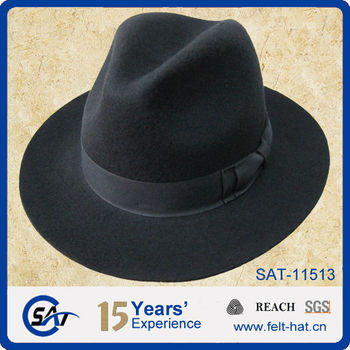 2e399a1542e Fashion 100% Wool Felt Men s Crushable Fedora Hat - Buy Crushable ...