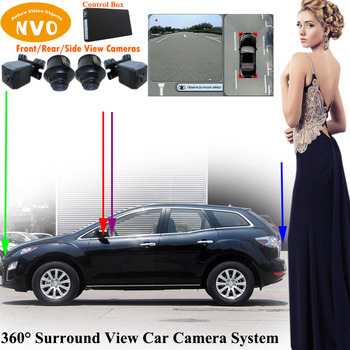 Hd Cover 360 Surround With Bird Eye View Parkview Rear