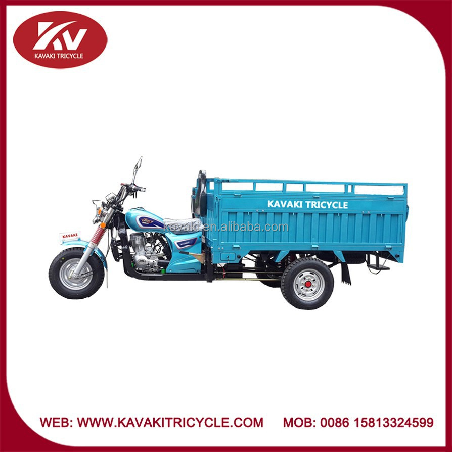 KAVAKI TRICYCLE basic model 150cc/200cc air-cooled blue bajaj tricycle price