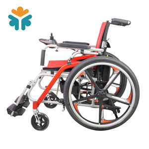Lightweight Mobility Easy Carry Electric Wheelchair for Disabled People