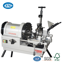 ZT-100BF Low Price Swift Open Type Copying Die Head Pipe Threading Machine