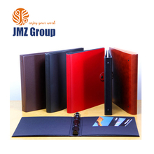 office stationery plastic ring binder with paper insert