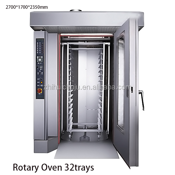High Quality Rotary Oven 16/32/64 Trays,Electric Rotary Oven
