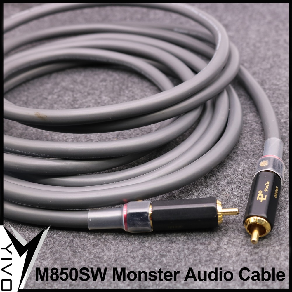 Yivo Monster M850sw Pcocc Occ 2 Core Shielded 8mm Audio Coaxial Rca ...