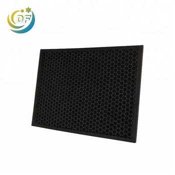 Honeycomb activated carbon filter smoke mask