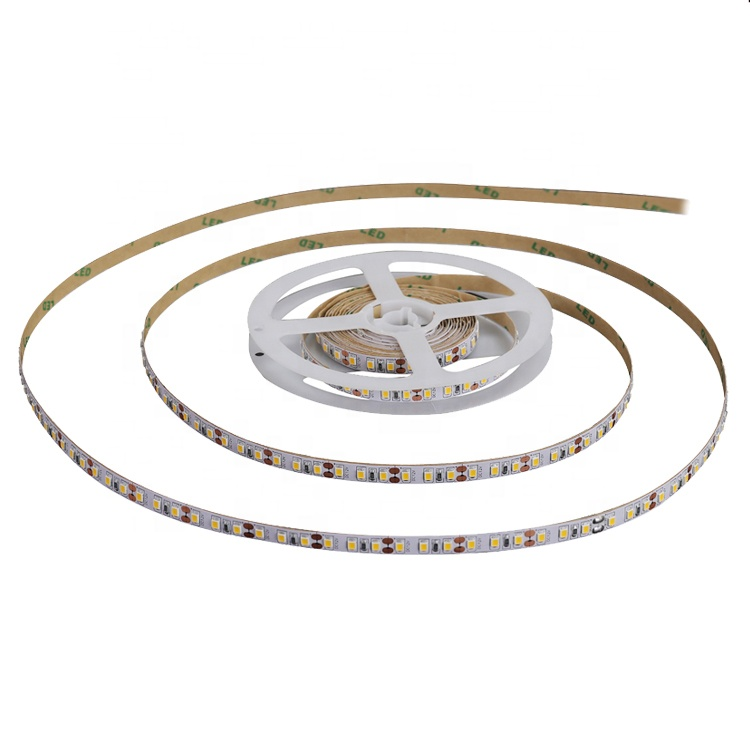 warm white cold white 5w 10w 14.4w IP20 IP65 smd 2835led aluminum profile waterproof 5m/roll flexible DC12V 24V led strip light