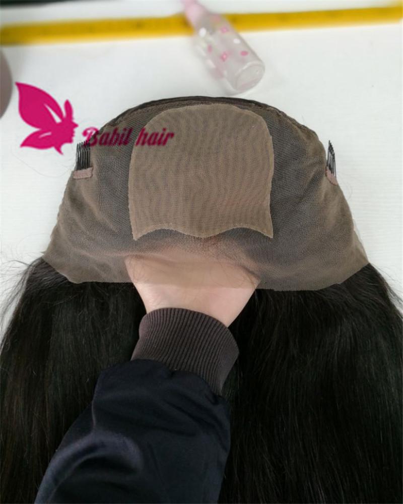 Full cuticle Silk Top Brazilian Virgin Human Hair 360 Lace Wig фото