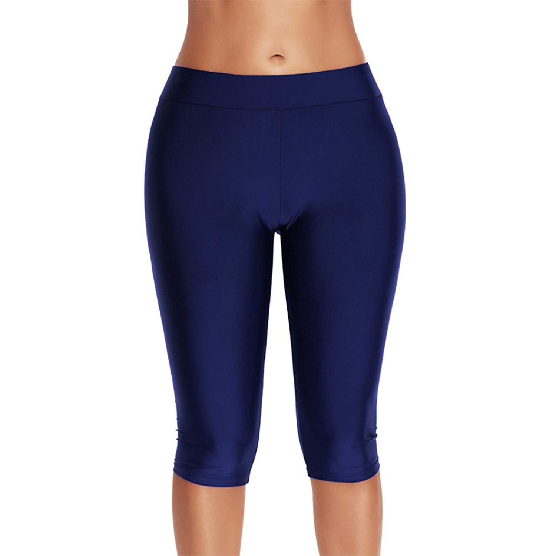 Là Vestmon Women Swim Midi Leggings Pants Rash Guard Pants Capri Surfing  Tights 3bad7a44d