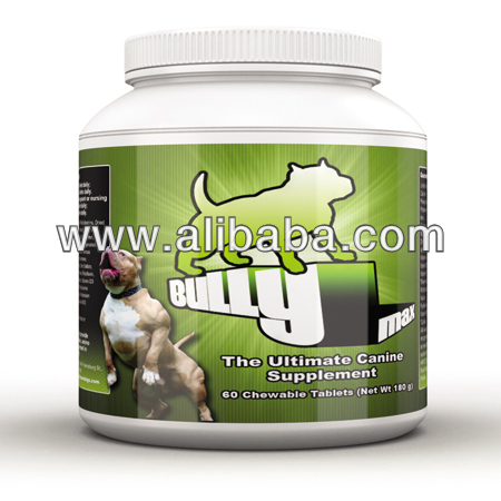 Bully Max muscle builder-All Natural suplemento mascota