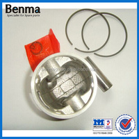 manufacture of pistons for motorcycle/motorcycle piston/top quality bajaj ct100 motorcycle parts