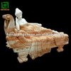 Natural Marble Lady Statue In Bed
