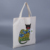 Custom standard size canvas tote 12oz cotton shopping bags