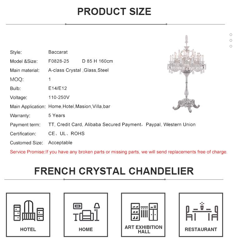 Lustre Baccarat Stand Chandelier Floor Lamp Buy Chandelier Stand Chandelier Floor Lamp Stand
