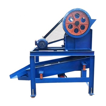 Small mobile jaw crusher screening machine/Jaw crushing sieving machine