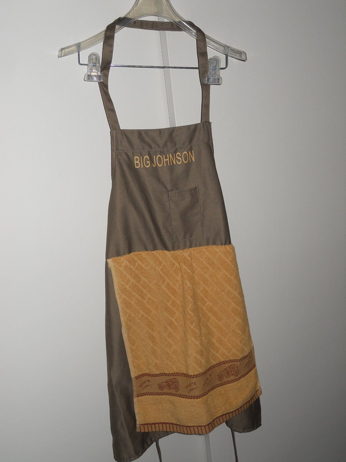 The BIG JOHNSON PARTY APRON NOVELTY FUNNY GAG GIFT SEXY
