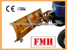 farm tractor atv hydraulic front mounted snow plow