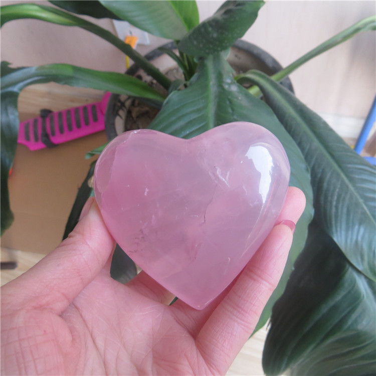 Wholesale Natural Rose Quartz Crystal Heart