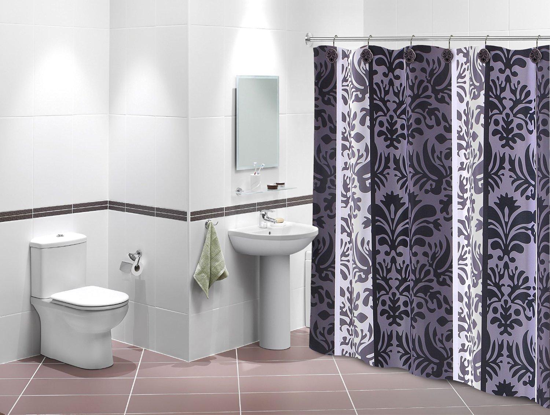 Florida Brands Celeste Design Shower Curtain Set