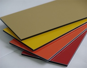 4X8 PVDF/PE Coated Alucobond Price/Exterior Wall Aluminum Composite Panels
