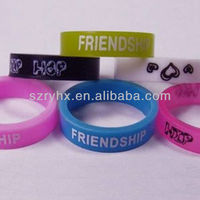 Promotional items cheap silicone rubber finger ring cover