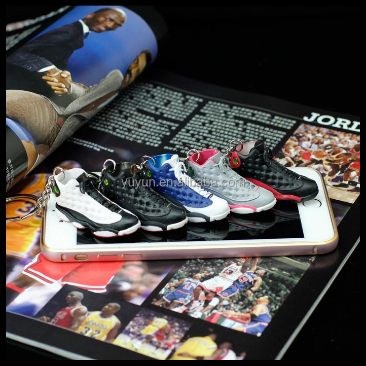 air jordan sneaker 3d keychains mini running shoe keychain for sale