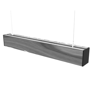 Modern aluminium LED Linear light up and down 30W ceiling light for commercial and office application