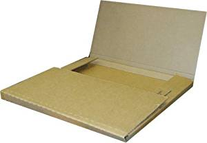 100 Variable Depth Economy Kraft LP Record Mailer Boxes