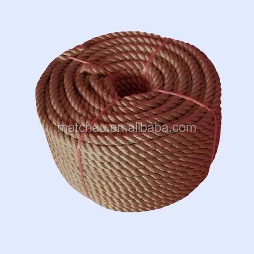 3-Strand Ship Used PP Mooring Ropes for Sale