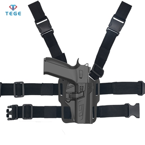 Gun Holster Fits CZ P07 P09 Tactical Polymer Panted Holster High Quality  Thigh Holster