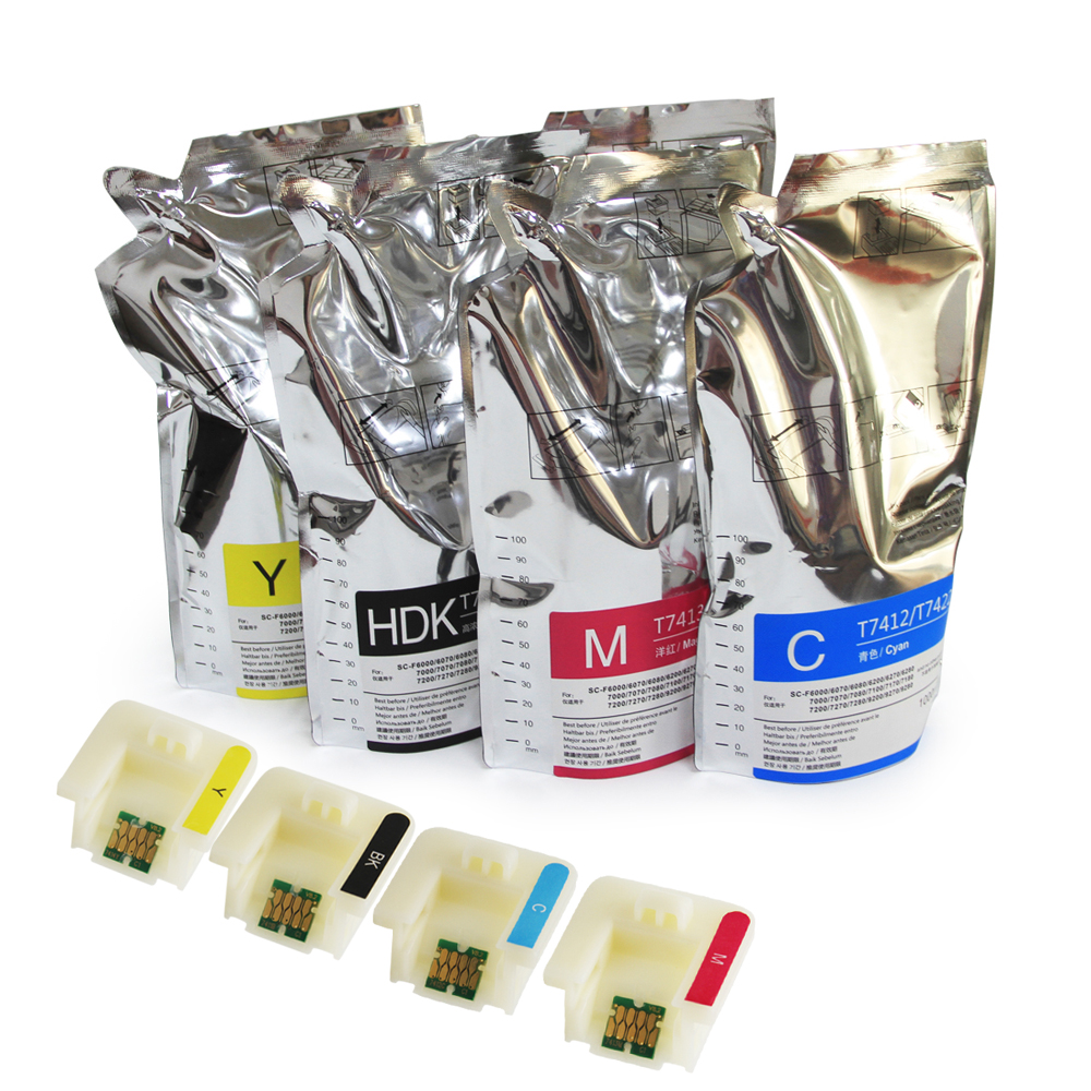 Ocinkjet Quality Sublimationstinte für EPSON Surecolor F6000 F6070 F6200 F6270 F7000 F7070 F7100 Heat Transfer Ink