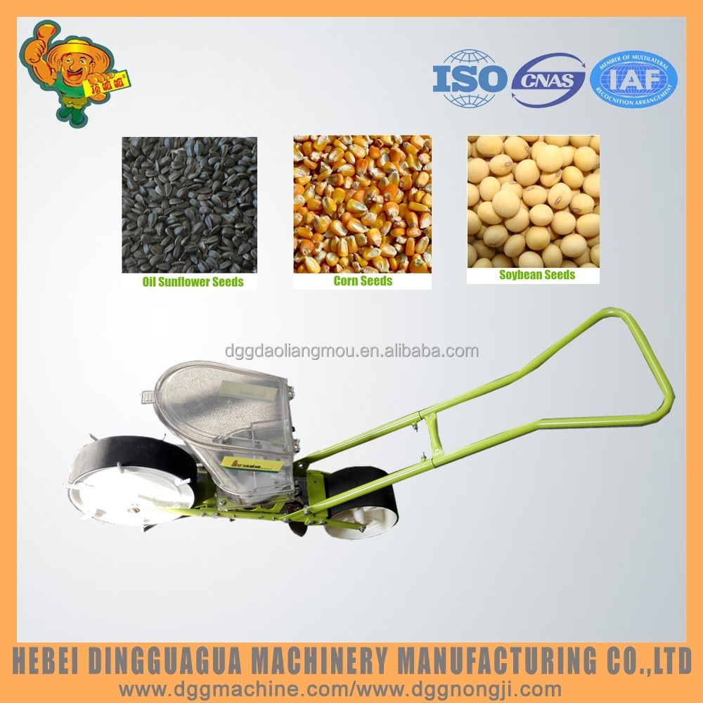 Farm tools and equipment and their uses manual hand disk hill-drop maize corn drill