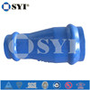 Ductile iron Double Socket Tapers for PVC Pipes