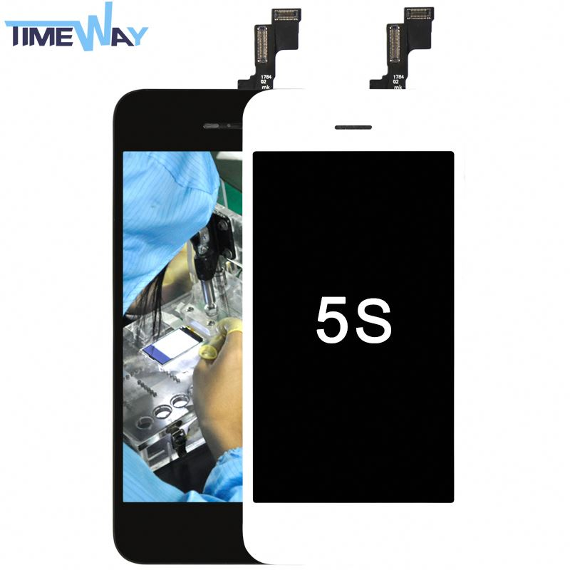 para o iphone da maçã 5s conjunto original do lcd de 16 gb para a tela de toque do lcd do iphone 5s