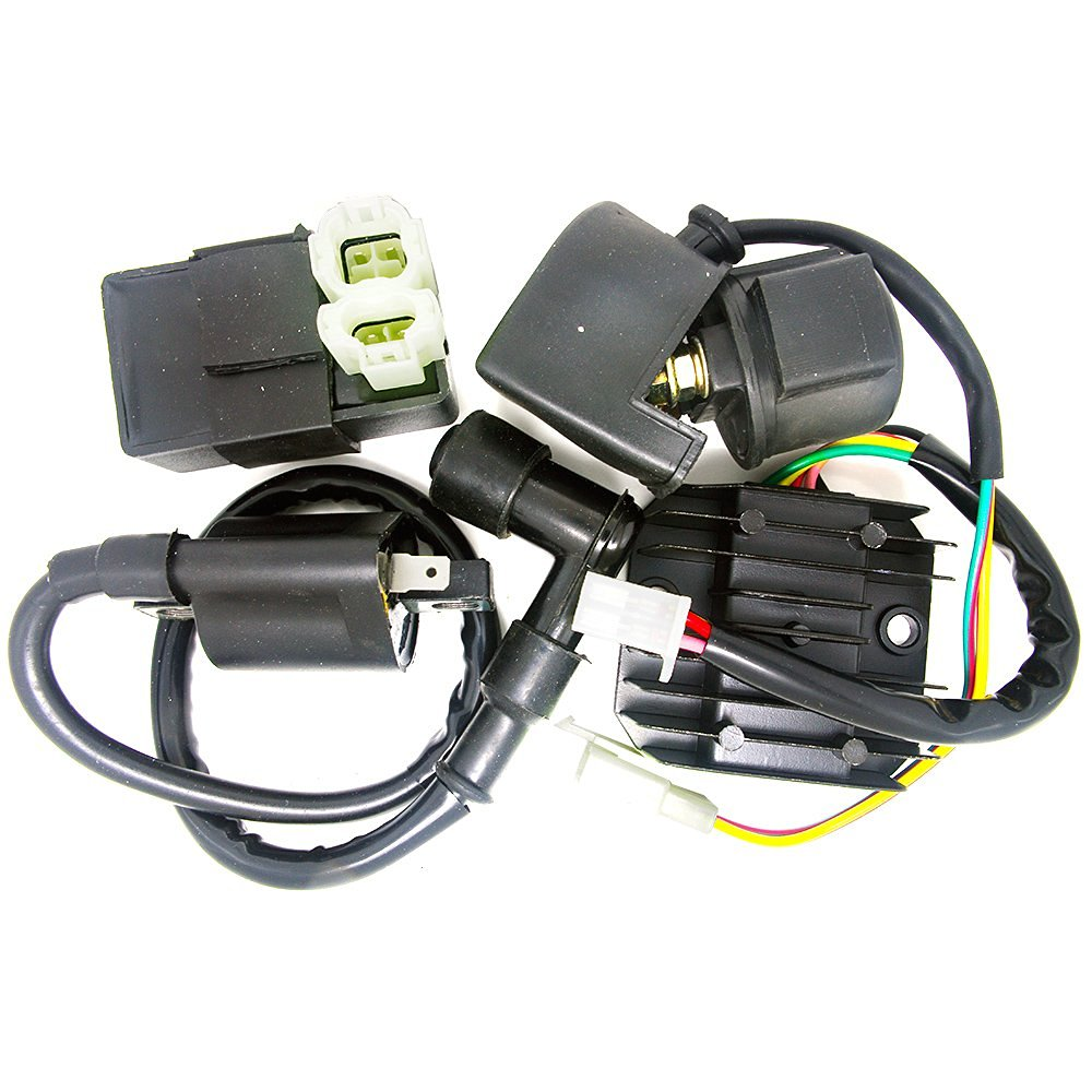 Cheap 200cc Chinese Quad Find Deals On Line At Atv Cdi Wiring Get Quotations Bestcompu Ignition Coil Regulator Rectifier Relay Kit 150 250cc