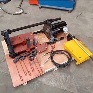 100T 150T 200T Hydraulic Track Link Press , Portable Track Pin Press for excavator 20T machine