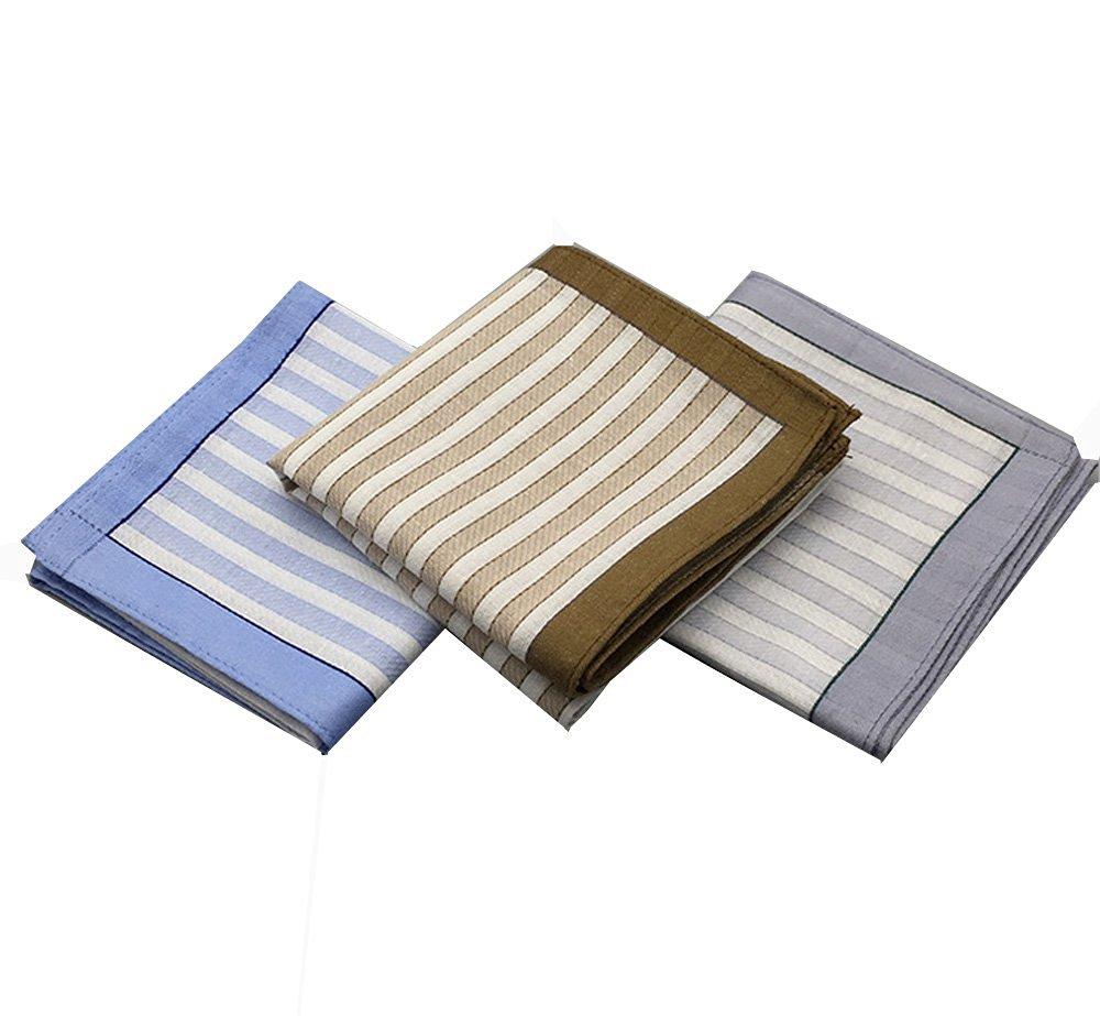 By Tech Pk 6 Cotton Light Color Handkerchief