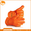 Heat Resistant Silicone Gloves High quality heat protective cooking gloves