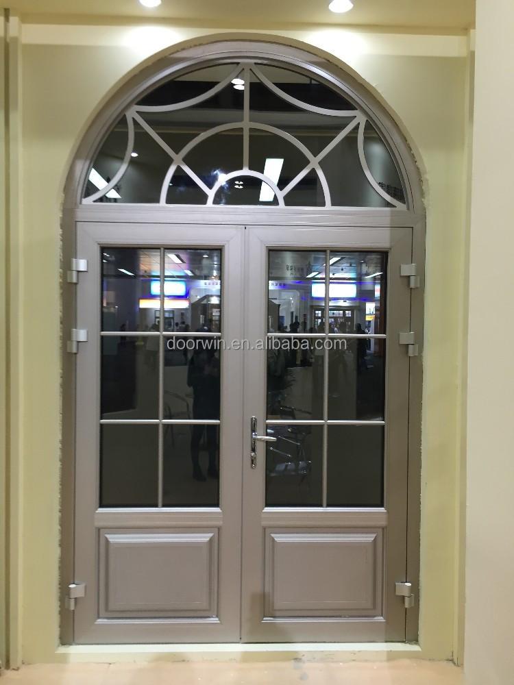 Exterior de aluminio doble vidrio franc s puerta de - Puertas de aluminio exterior ...