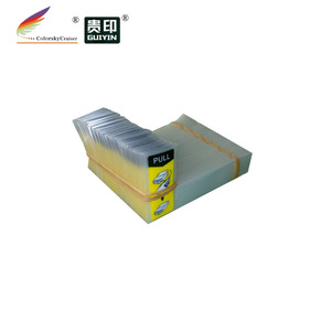 (ACC-YT7) yellow sticker label tag air duct film for Epson for Canon for Lexmark for Kodak ink cartridge different size