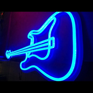 Custom Lips Neon Lamp Decoration Room Desk Light Guitar Lamp