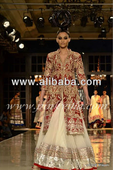 Indian Bridal Wear 2017 Red 85