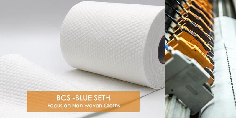 Tear-Resistant Nonwoven Roll Wet Wipe Industrial Wiping Roll