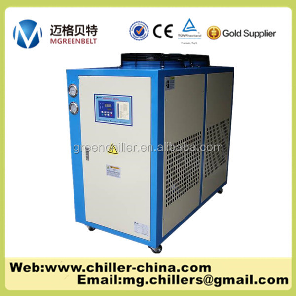 Industrial use 5Ton Air cooled glycol beer chiller/beer glass chiller