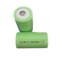 Ce approved industrial 1.2v 10000mah ni-mh rechargeable battery