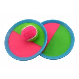 Sticky Beach Catch Paddle Ball Set