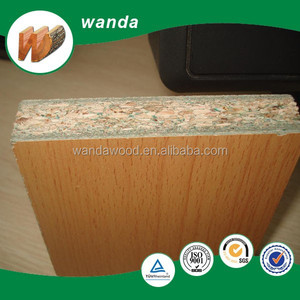 18mm melamine faced particle board for cabinet making